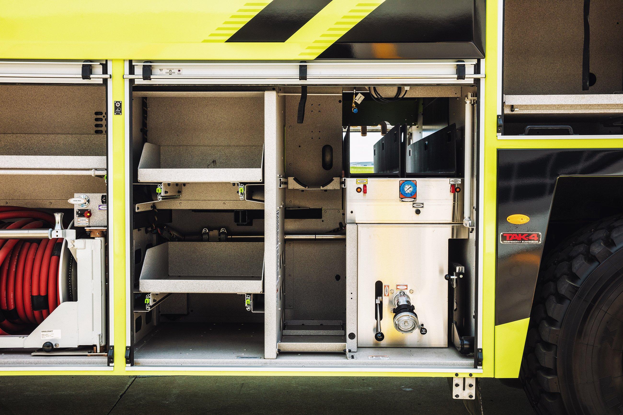 ARFF Striker Compartment View