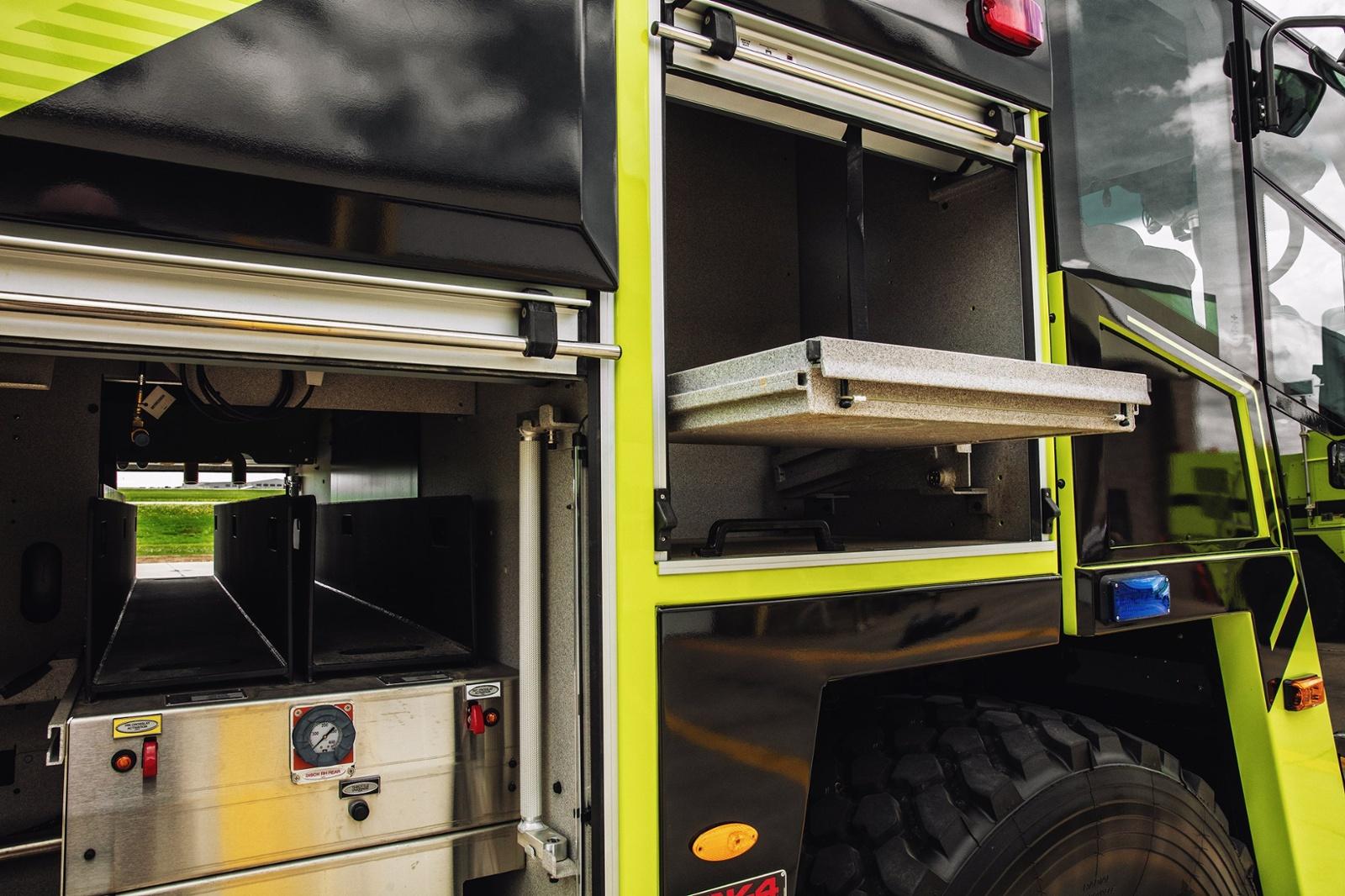 ARFF Striker Compartment Shot