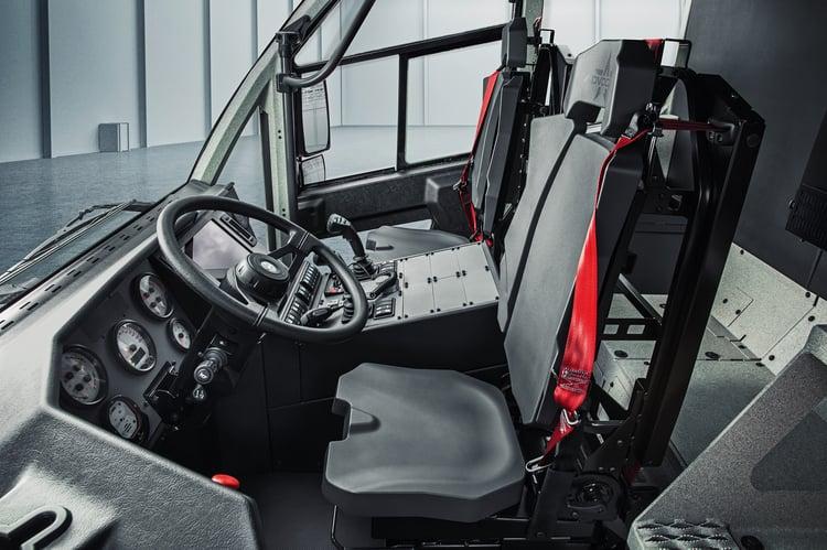 Oshkosh Striker CARE Clean Cab