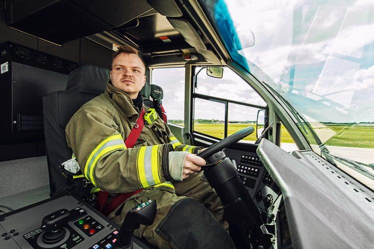 Oshkosh Striker Cab Firefighter