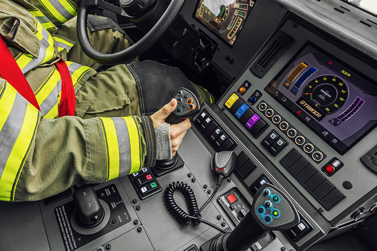 Oshkosh ARFF Striker Cab