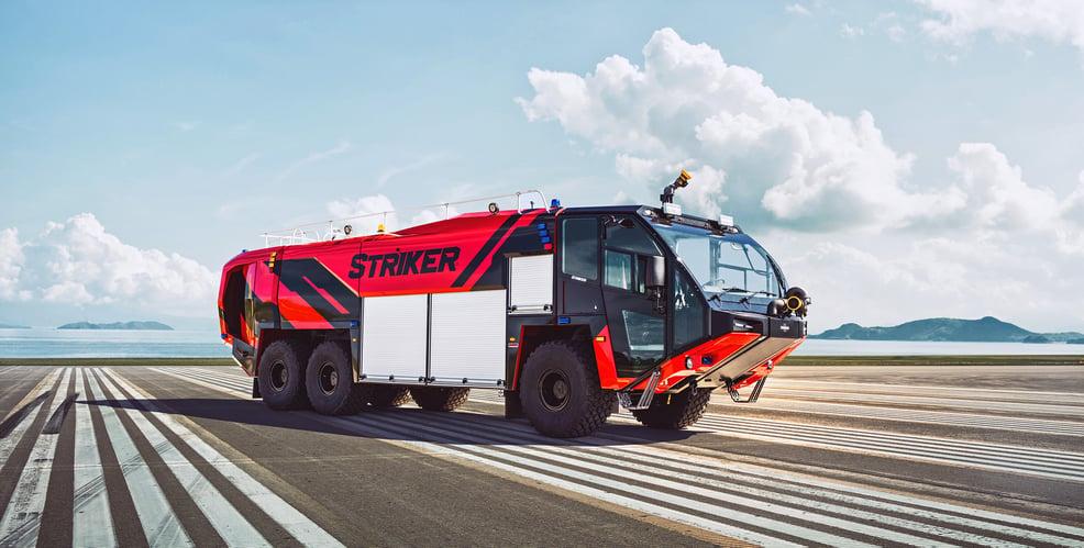 Oshkosh Striker 6x6 Airport Runway