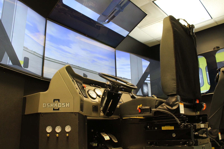 Oshkosh ARFF Striker Simulator