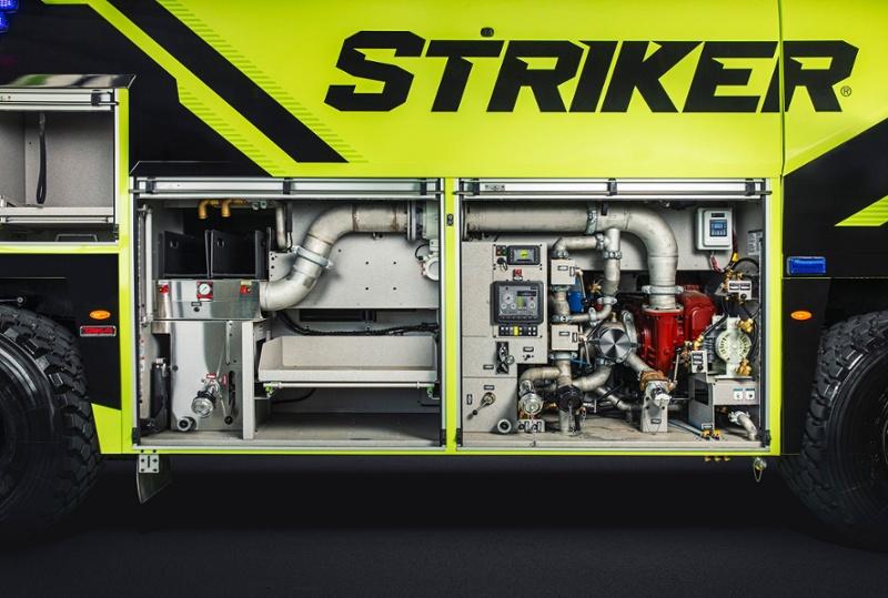 ARFF Striker Side Compartment