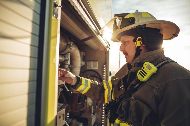 Oshkosh ECO EFP Firefighter Striker