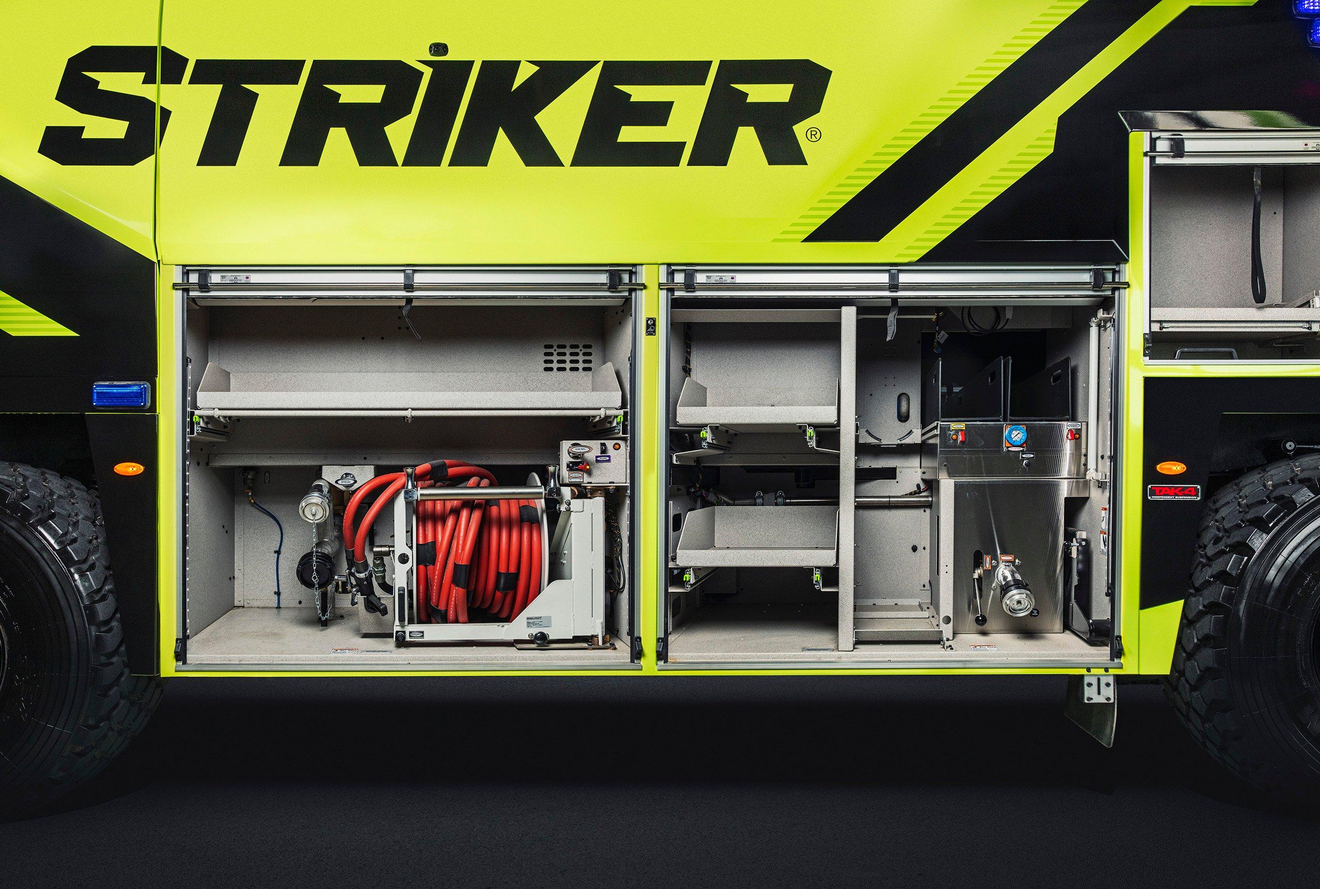 Oshkosh ARFF Striker Storage Compartment