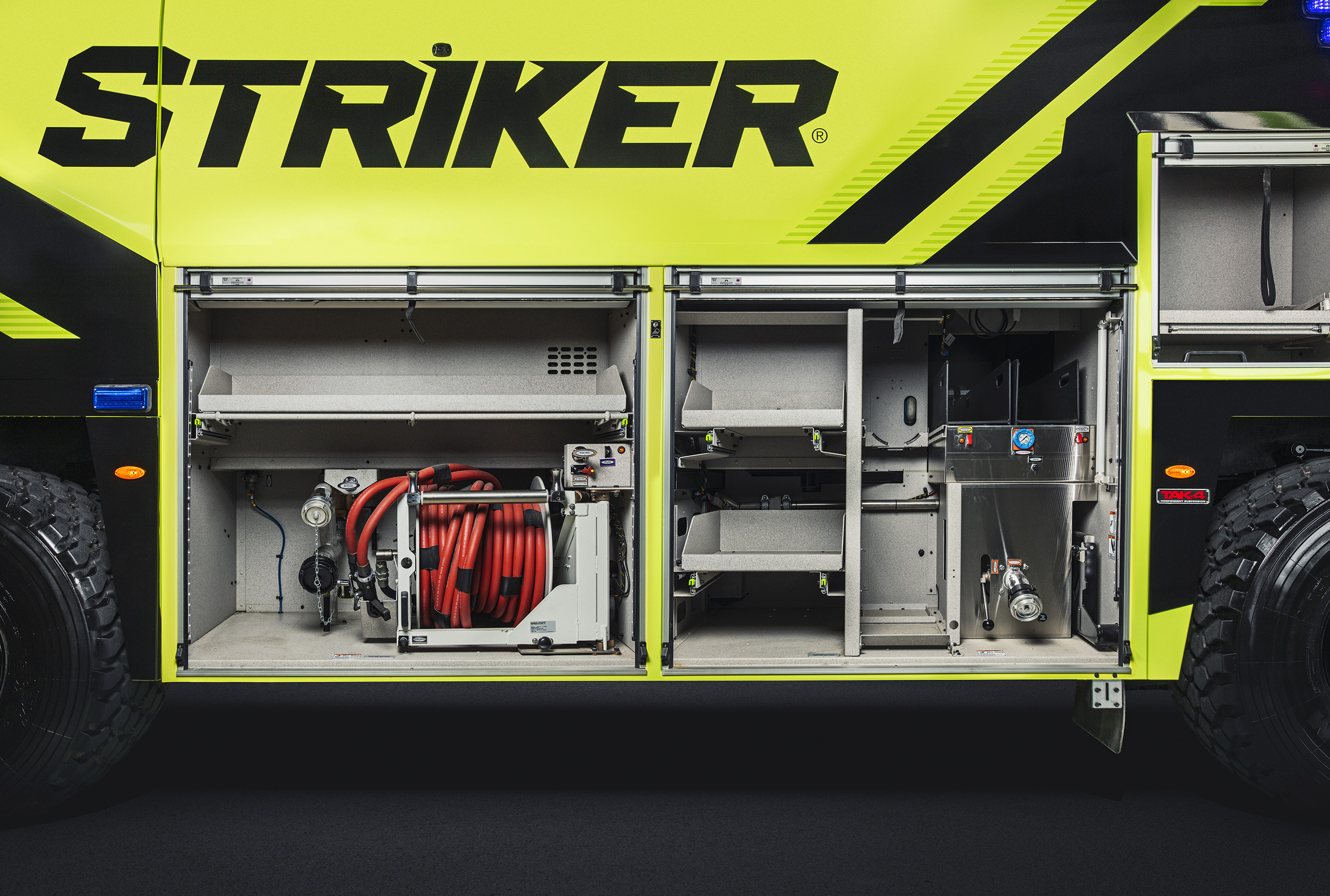 ARFF Striker Side Compartment
