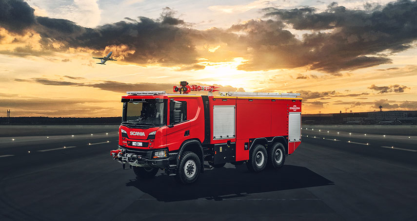 Oshkosh Airport Products introduced the new Oshkosh ARV ARFF vehicle at inter airport Europe 2019.