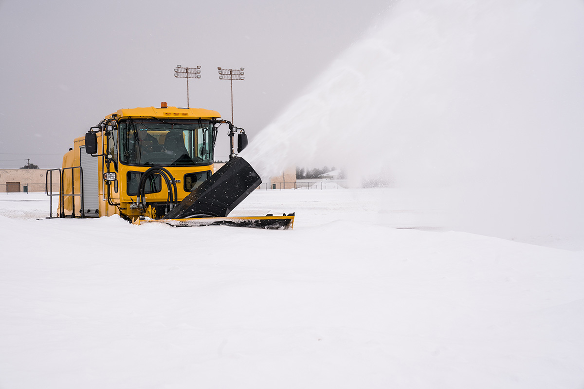 Oshkosh Airport Products has secured 14 individual contract awards from the United States Air Force to produce a total of 110 snow trucks that will be put into service at bases located around the world beginning April 2019.