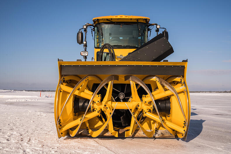 Oshkosh Airport Products H-Series Blower to be on display at Snow Symposium 2019