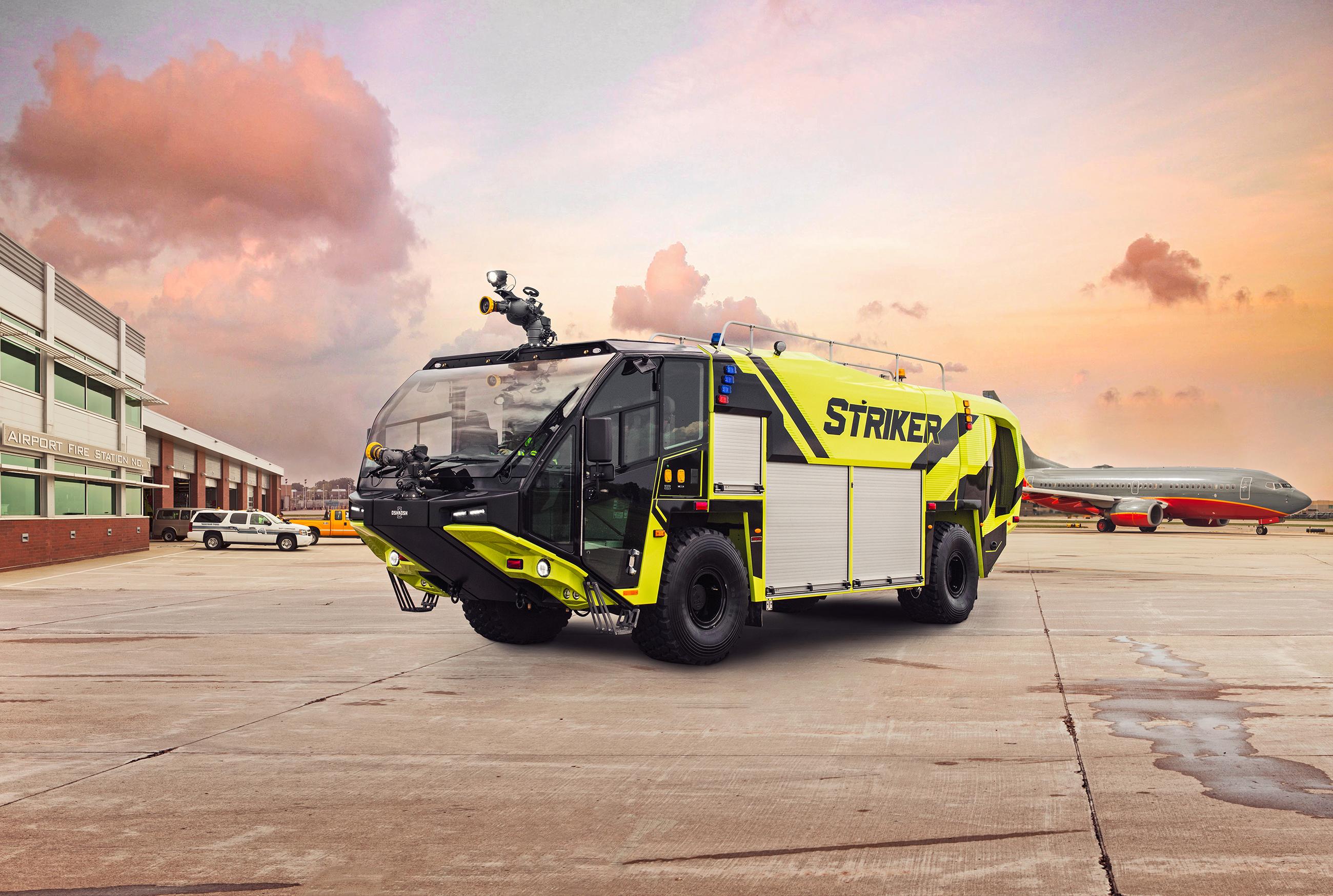 ARFF Striker 4x4 Airport Runway