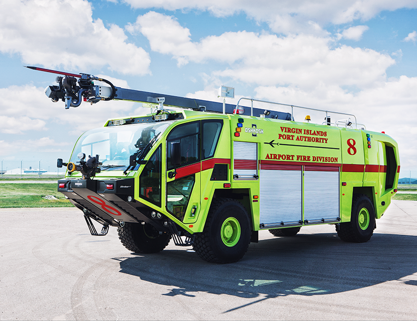 Striker | Airport Fire Trucks | ARFF | Oshkosh Airport Products